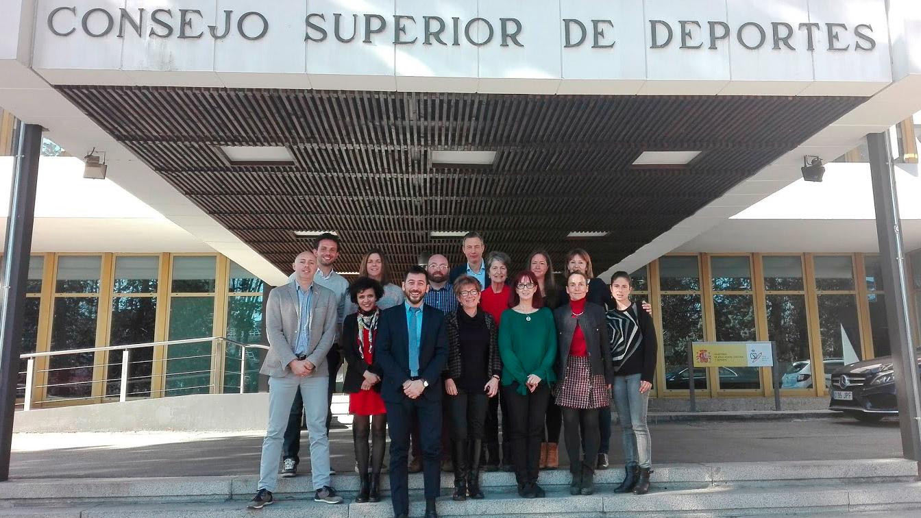 The Spanish High Council for Sport hosted in Madrid the Erasmus+ i-Protect in Sport Kick-Off Meeting on the 23rd and 24th of February.